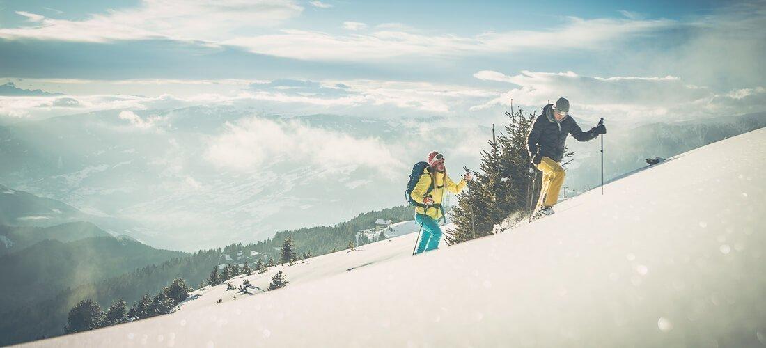 Winterferien in den Dolomiten